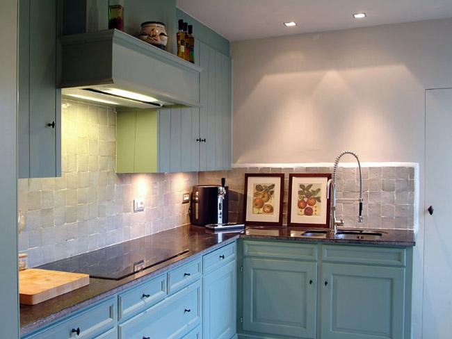 Laurent Geers Schilder- en Decoratiewerken - Moderne keuken